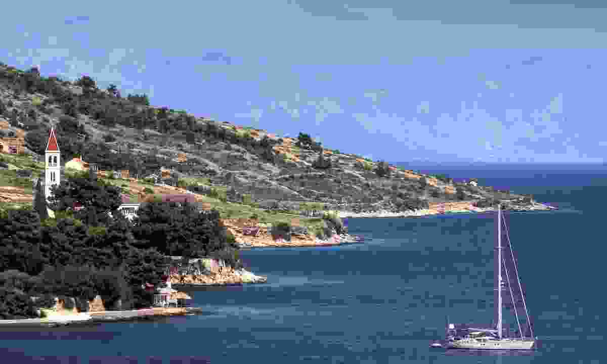 Cruising the Dalmatian Coast (Dreamstime)