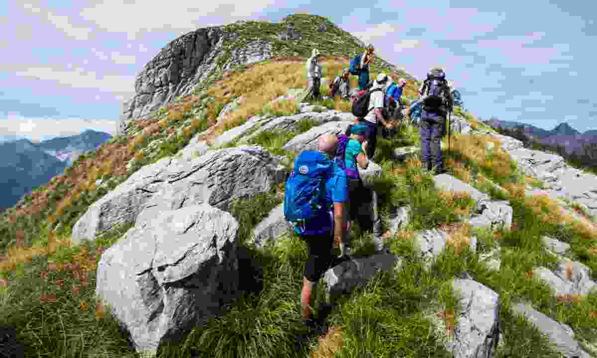 Guided trek through the Tuscan peaks (Exodus)