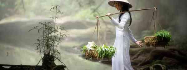 Vietnam's national dress (Shutterstock)