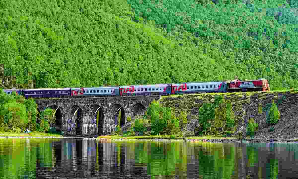 Circum-Baikal train (Dreamstime)
