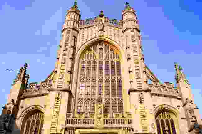 Bath Abbey, used as a filming location for a 1980s TV adaptation of Northanger Abbey (Dreamstime)