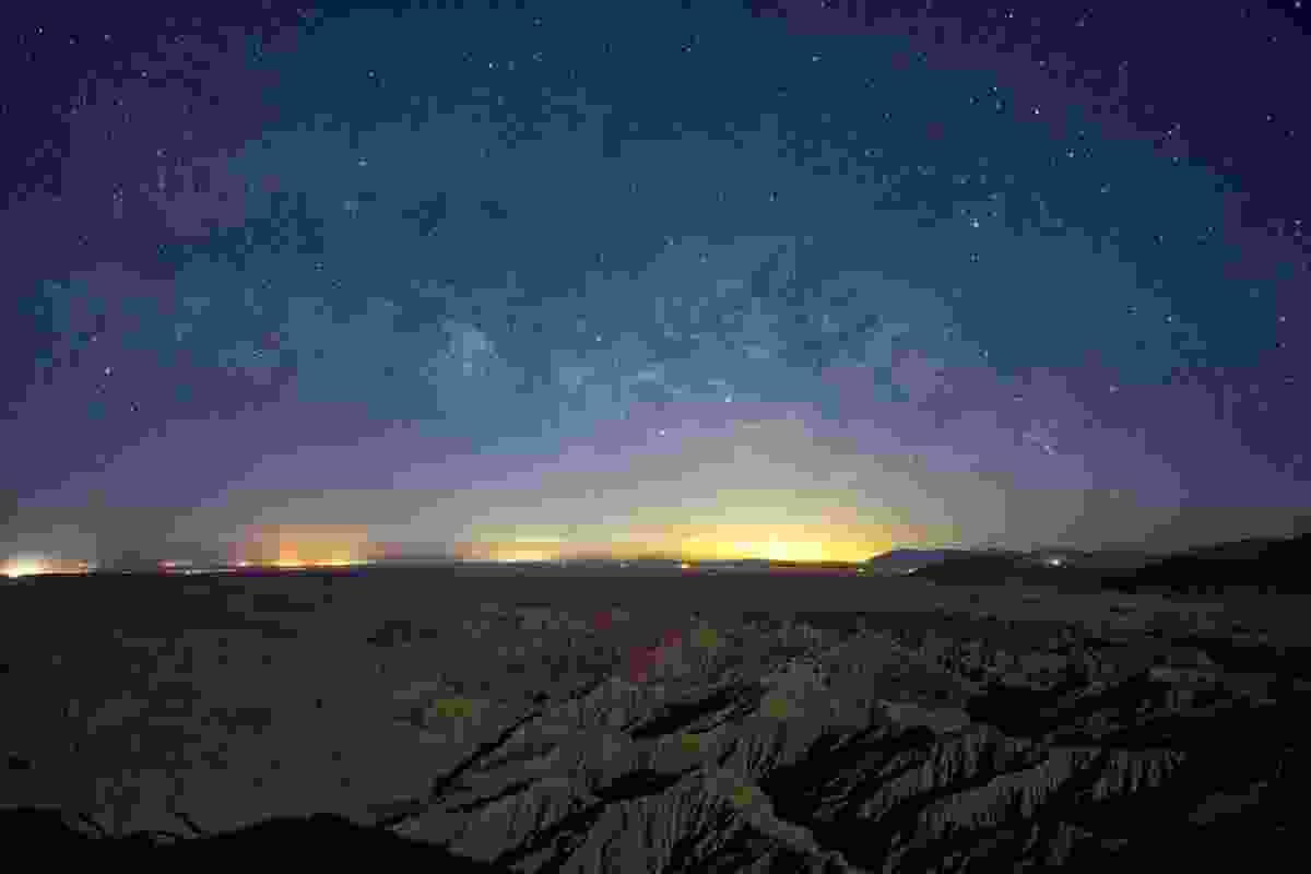The Milky Way seen from Borrego Springs, California (Shutterstock)