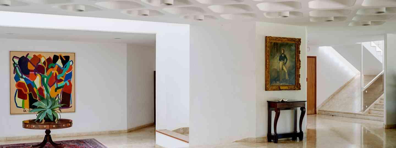 Inside the British Embassy in Brasilia, Brazil (Luke White)