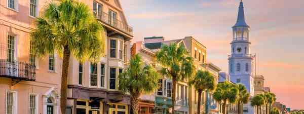 Rainbow Row in Charleston, South Carolina (Shutterstock)