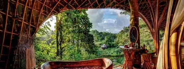 Inside Bali's best green hotels and resorts (Bambu Indah)