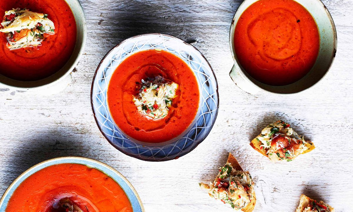 Ben Tish's Moorish recipes   Gazpacho, pork ribs and orange jelly