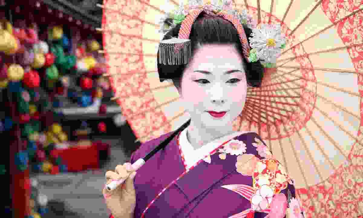 A geisha in Kyoto (Dreamstime)