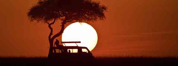 Sunset over the Masai Mara (Dreamstime)