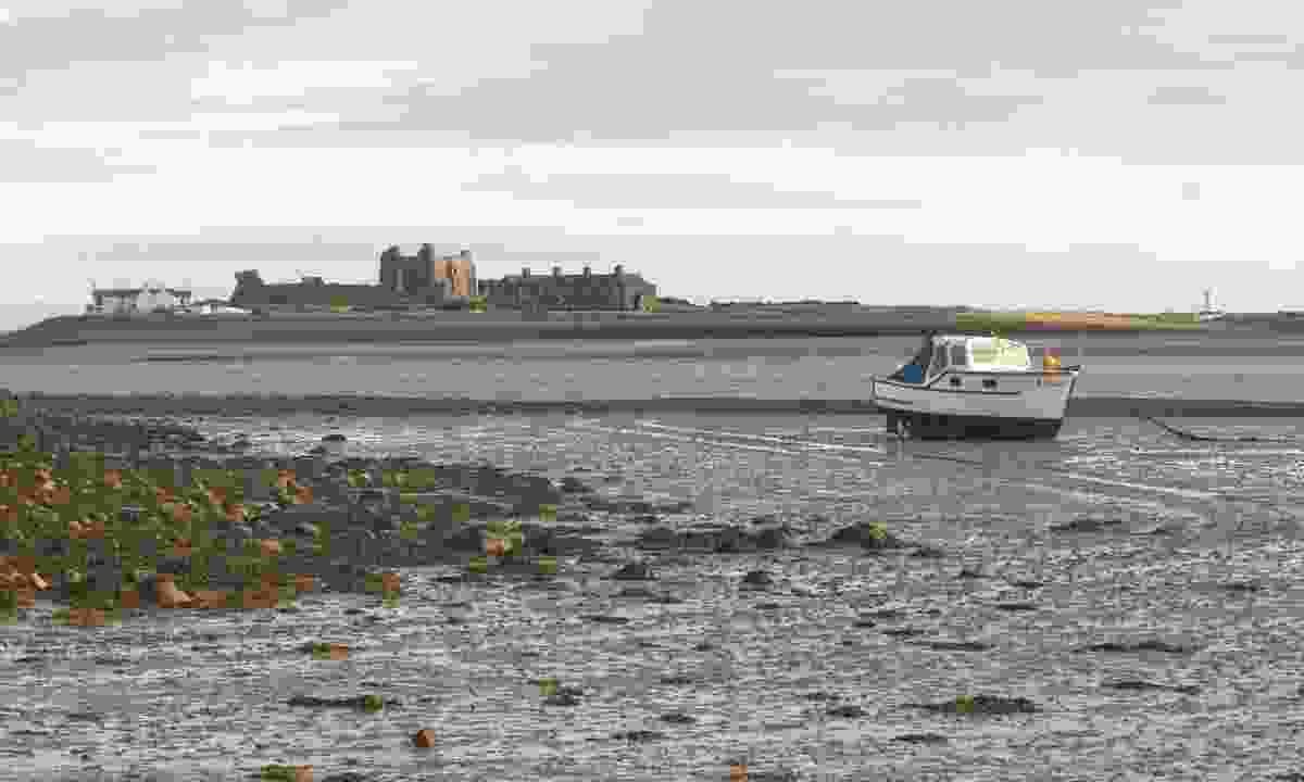 Piel Island at low tide (Dreamstime)