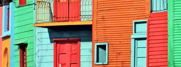 La Bocas district in Buenos Aires (Dreamstime)