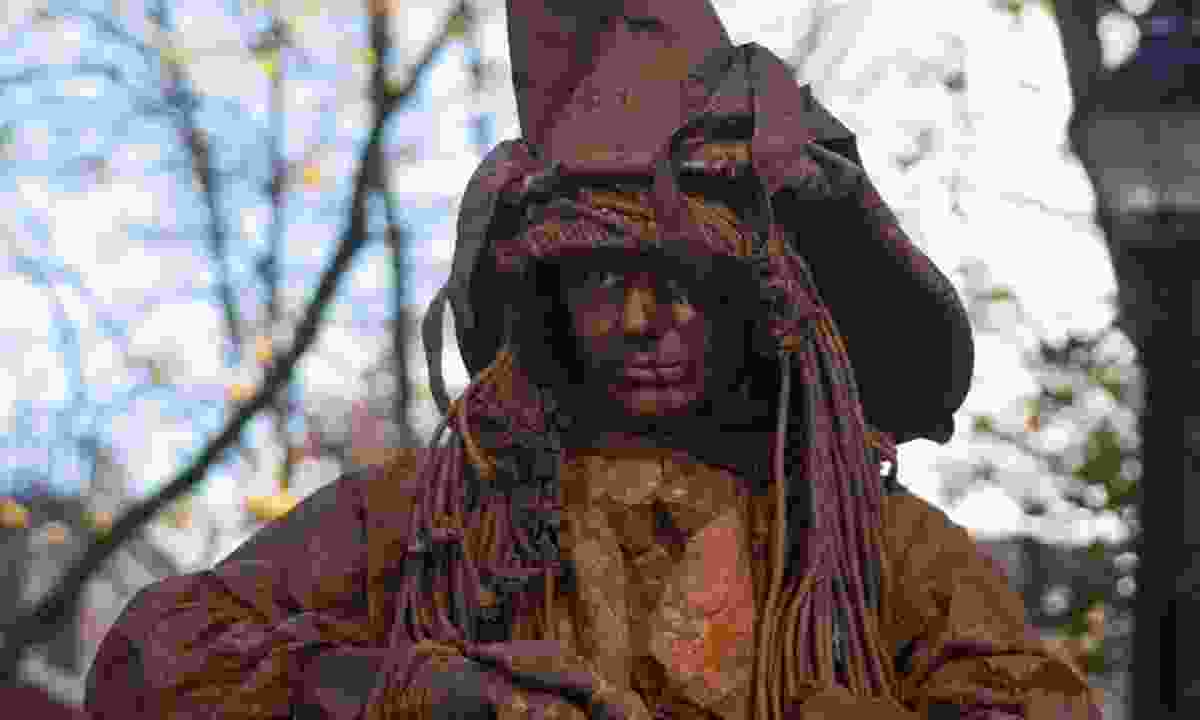 A witch in Salem (Dreamstime)