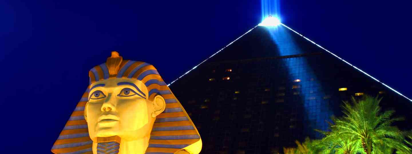 The Luxor Hotel, Las Vegas (Dreamstime)