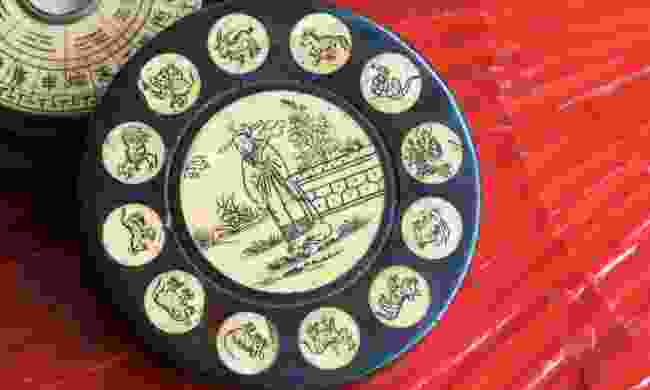 Antique Chinese Zodiac Wheel (Dreamstime)