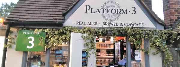 Platform 3 at Claygate (Platform 3)