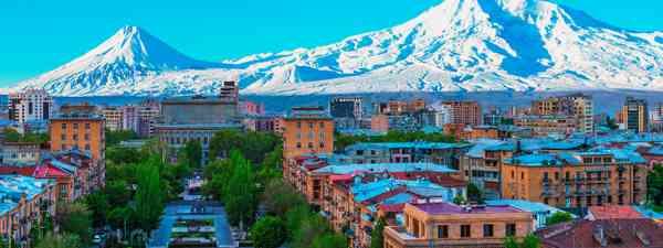 Mount Ararat overlooking Yerevan (Shutterstock)