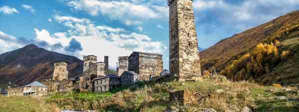 Ushguli village in Svaneti (Shutterstock)