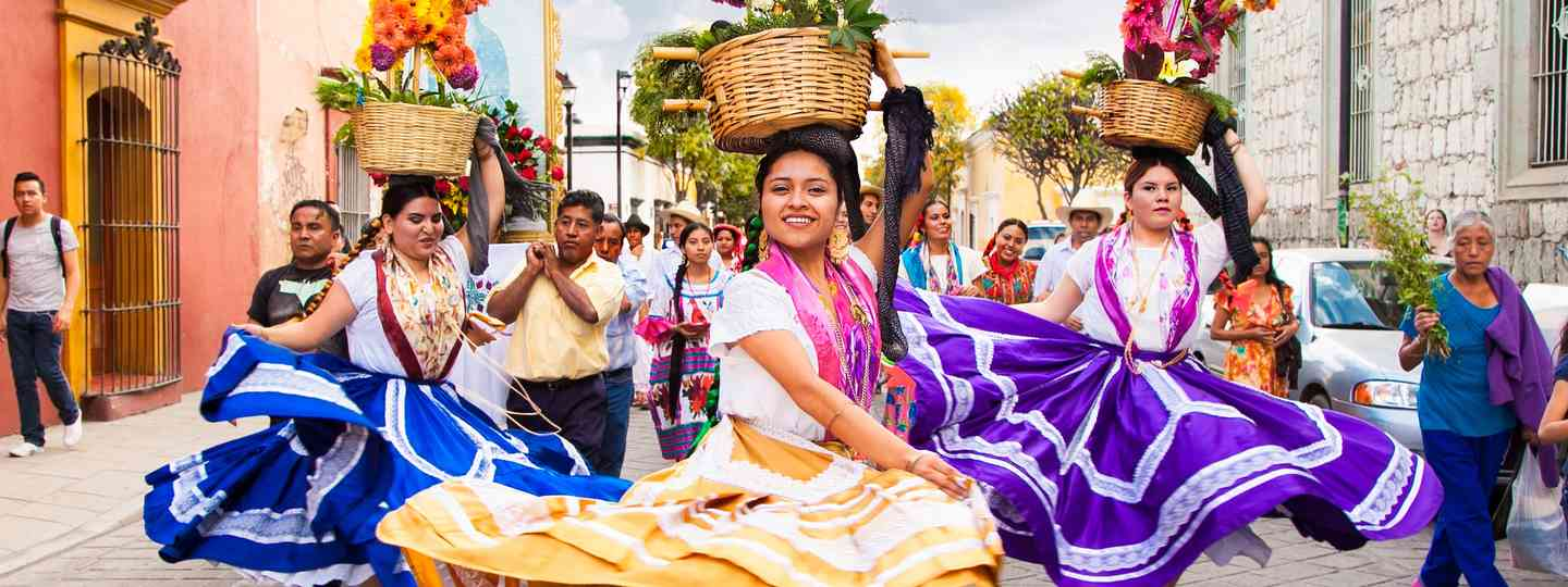 Celebrating in Oaxaca (Shutterstock)