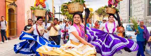 Celebrating in Oaxaca (Shutterstock)