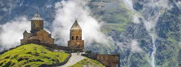 Gergeti Trinity Church near Mount Kazbegi (Shutterstock)