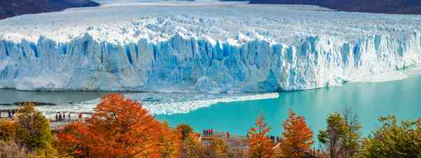 Argentina's famous glacier (Shutterstock)