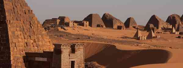 Pyramids of Meroe (Simon Chubb)