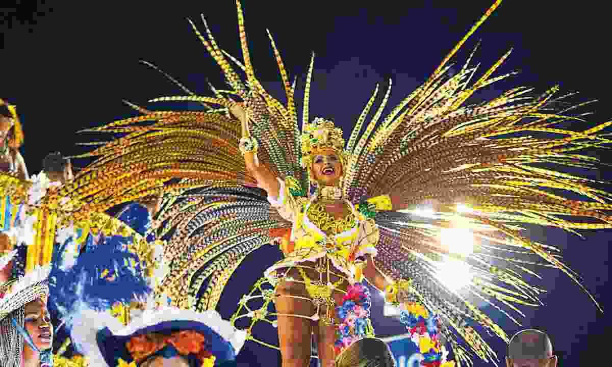 Carnival across Latin America (Dreamstime)