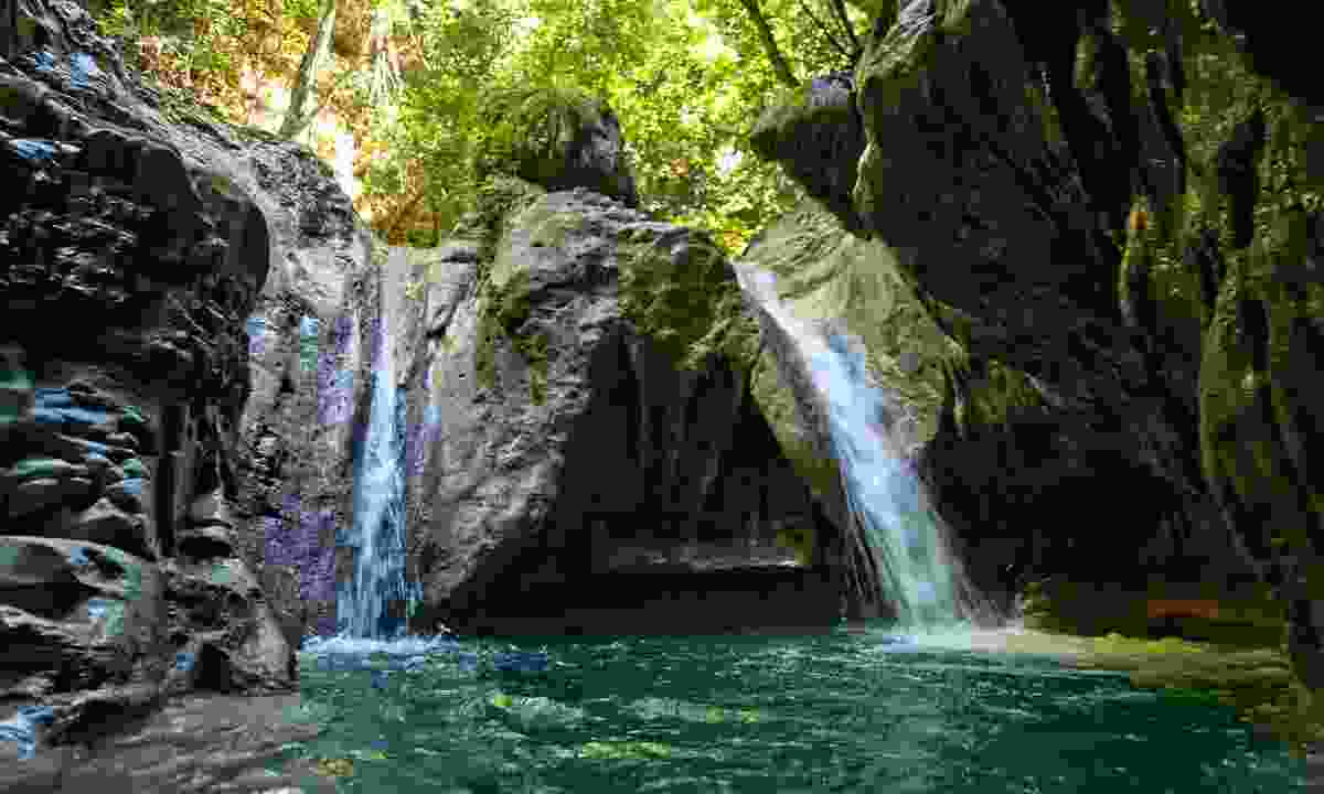 Try canyoning (Go Dominican Republic)