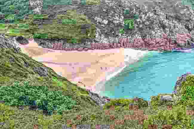Porthcurno, Cornwall (Dreamstime)