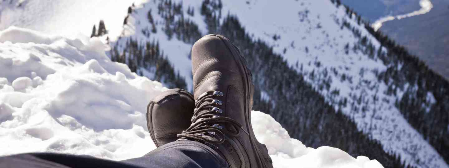 Winter walking boots (Dreamstime)
