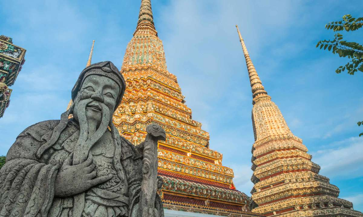 Wat Pho temple in Yunnan province, China (Dreamstime)