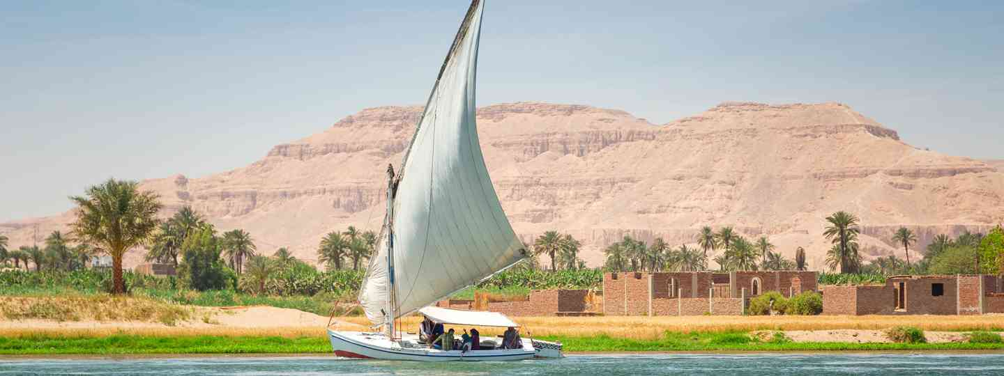 Egyptian felucca (Dreamstime)