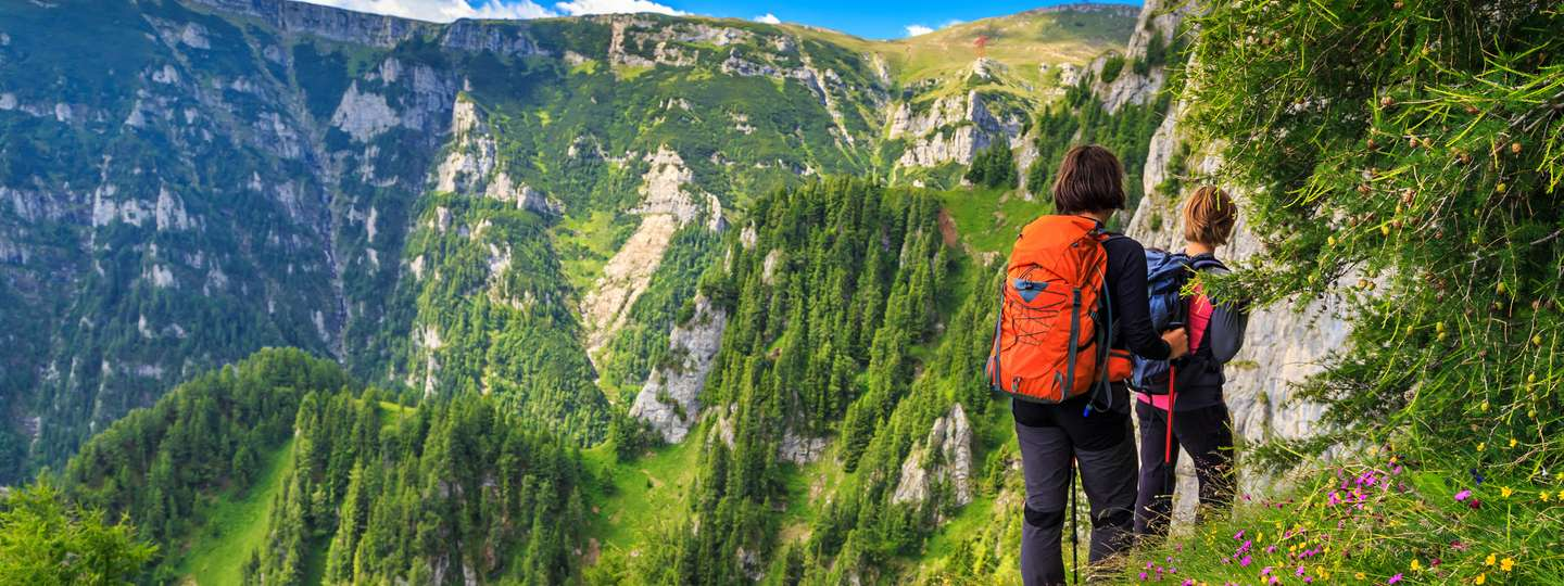 Hiking in the Carpathian Mountains (Dreamstime)