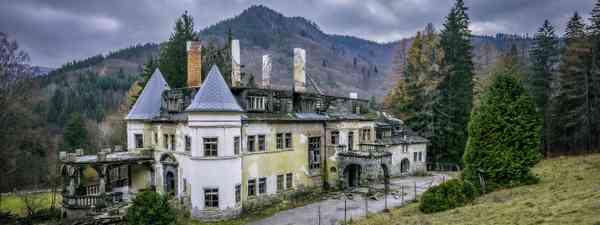 Abandoned health spa, Slovakia (Shutterstock)