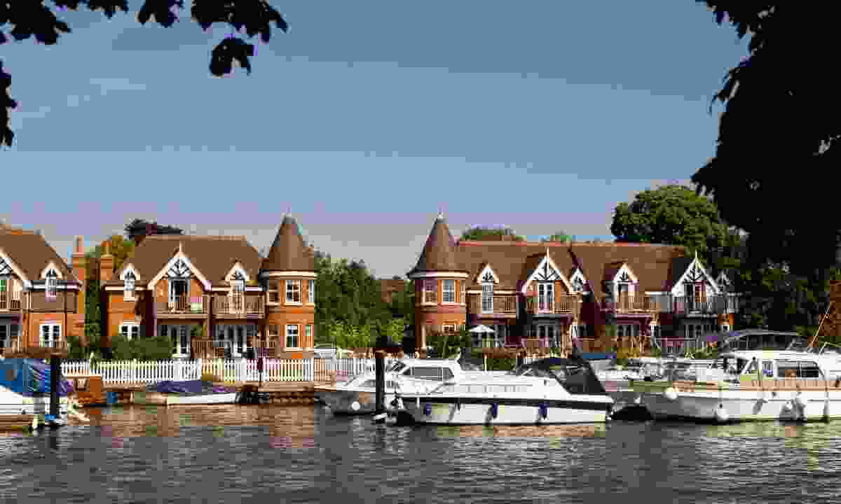 Cookham, viewed from the Thames  (Dreamstime)