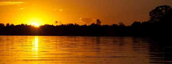 Sunset of the Brazilian Amazon (Simon Chubb)