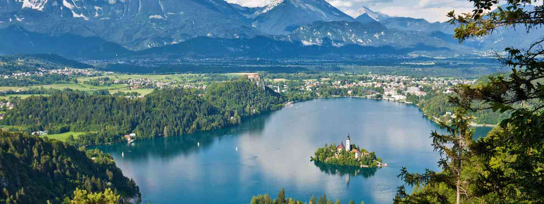 Views of Lake Bled (Slovenian Tourist Board)