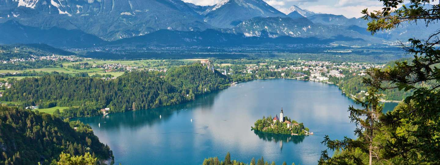 Views of Lake Bled (Slovenian Tourist Board)
