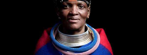 Ndebele woman (Shutterstock)