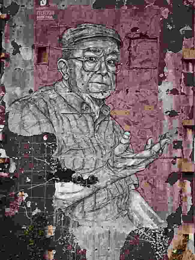Huge artwork by Portuguese Frederico Draw (Simon Chubb)