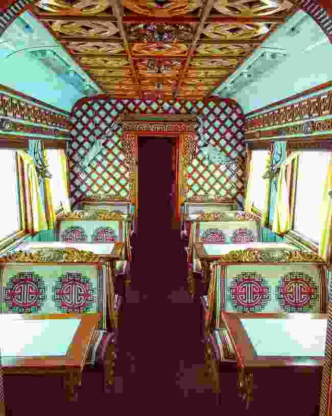 Inside Mongolia's Trans-Siberian Railway (Shutterstock)
