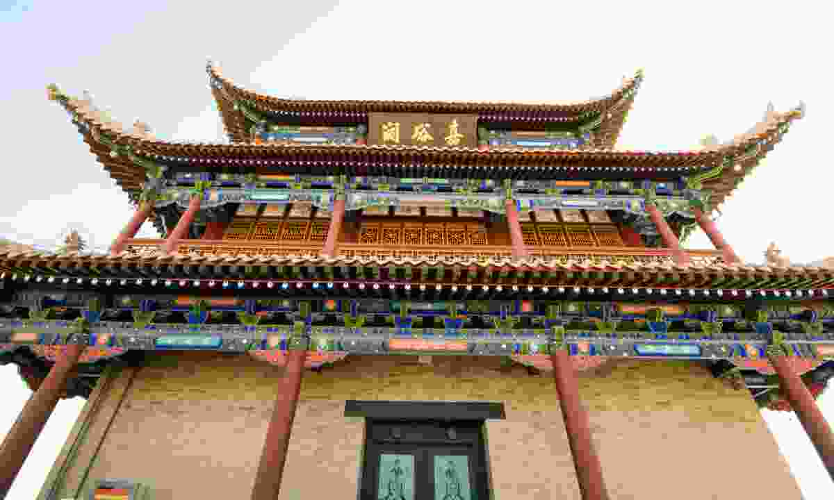 Jiayuguan Fortress, China (Dreamstime)
