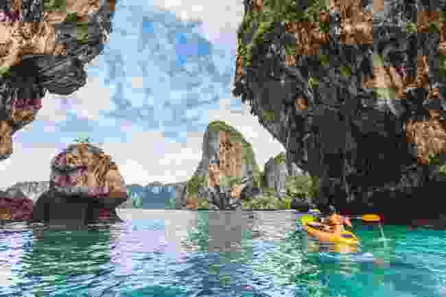 Kayaking in Krabi (Shutterstock)