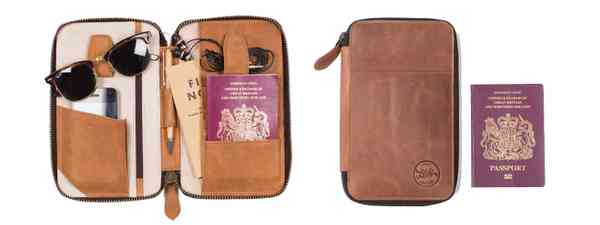 Enjoy 15% off beautiful Lorton & Horn travel wallets and more