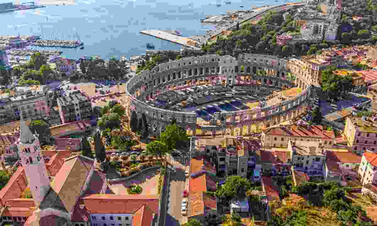The Arena in Pula (Dreamstime)