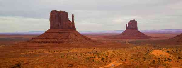 Driving through Monument Valley is one of the best road trips to be had in Utah  (Matt Morgan)
