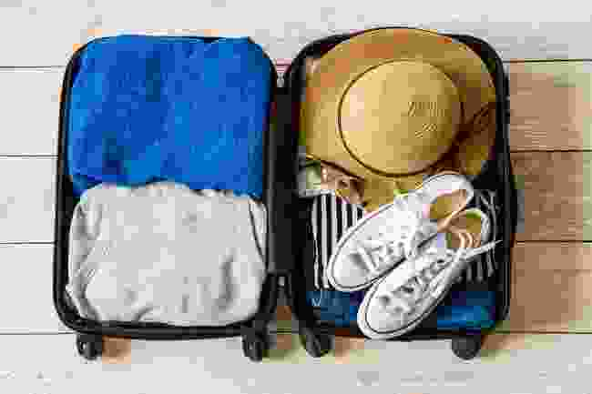 Write about packing for a trip (Shutterstock)
