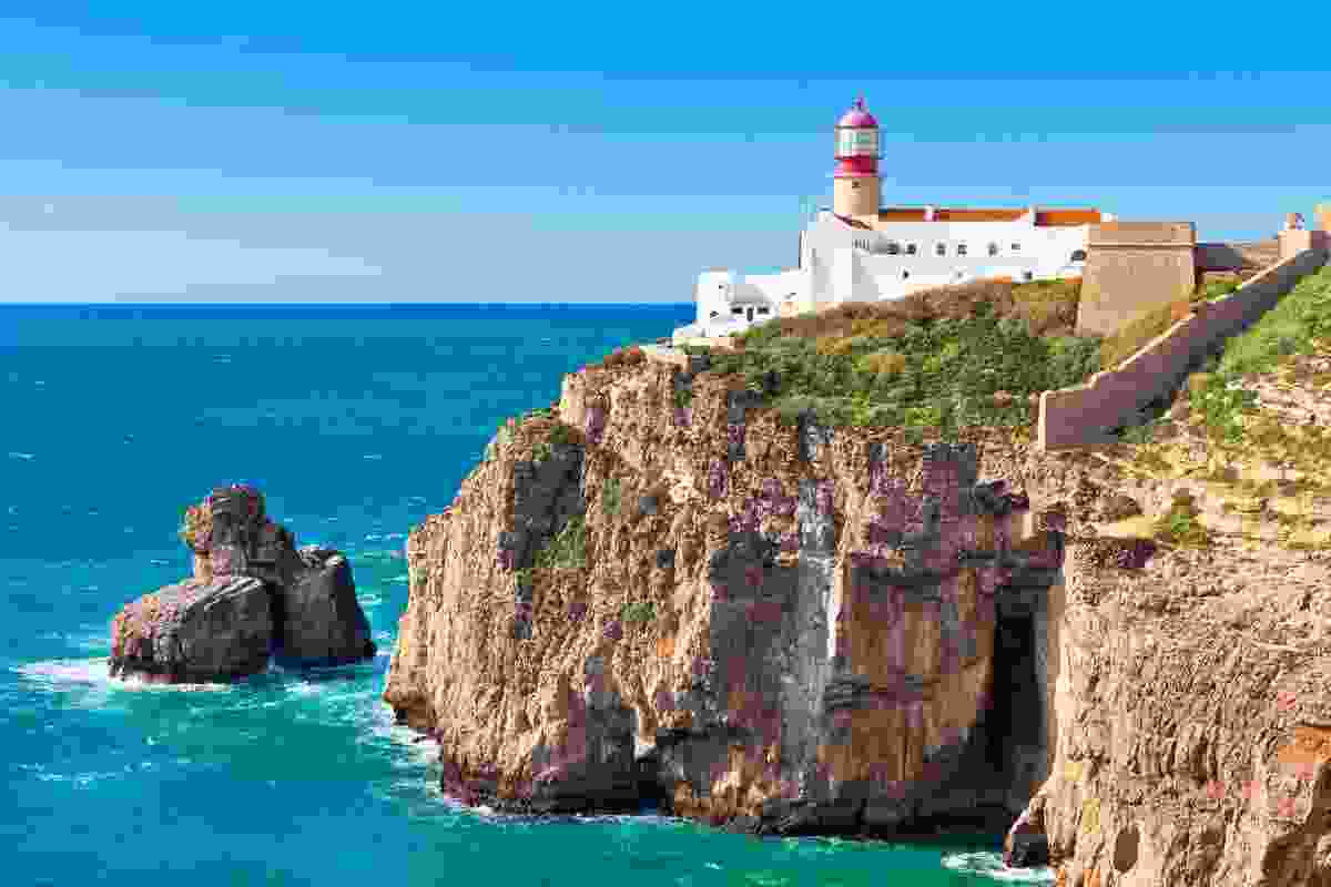 Cabo Sao Vicente Lighthouse, Sagres, Portugal (Shutterstock)