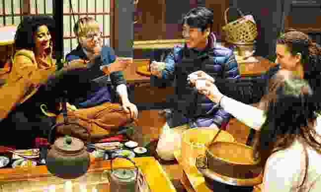 Go on a sake tour