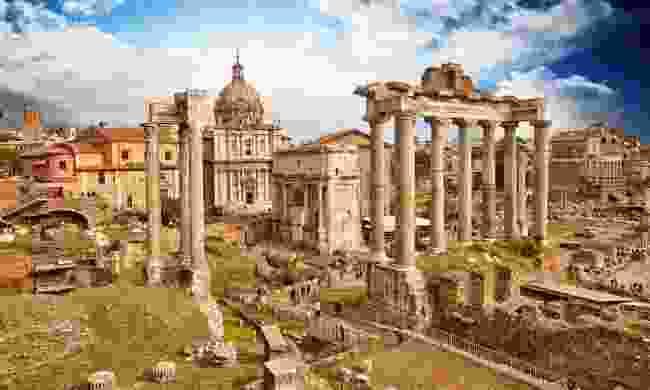 The Roman Forum (Shutterstock)