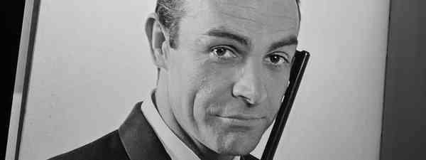 Sean Connery as James Bond (Shutterstock)